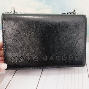 Marc Jacobs Double Take Leather Logo Crossbody